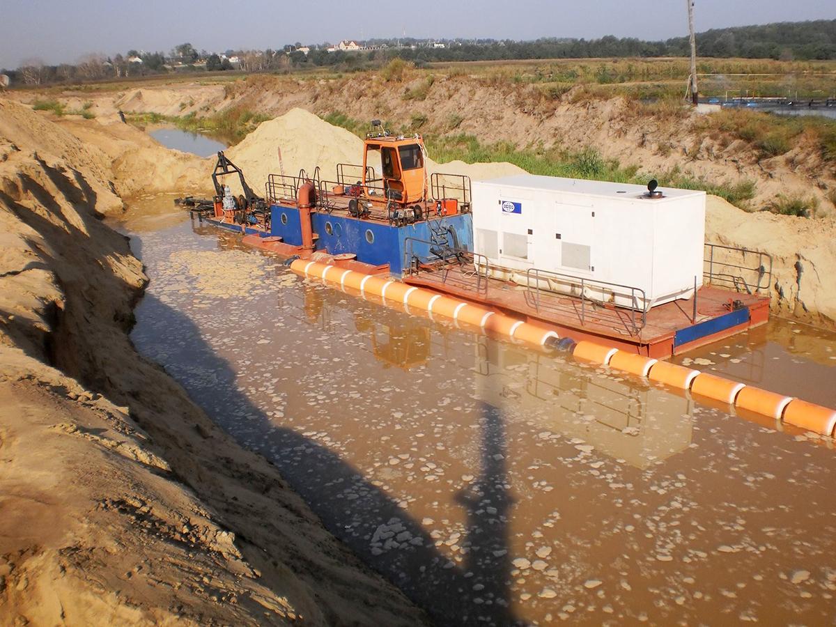 ПЛАВУЧИЙ ТРУБОПРОВОД с цельнонавитым поплавком