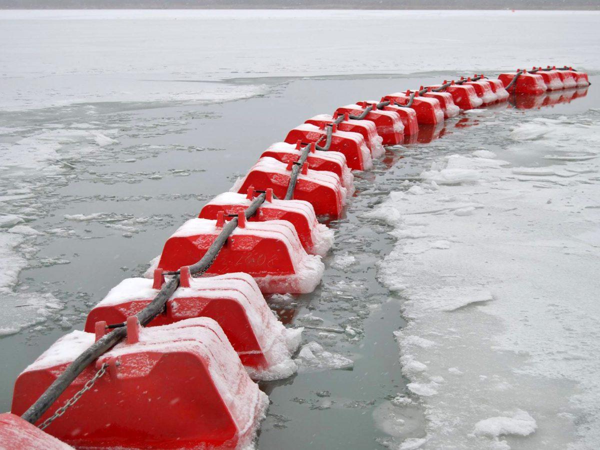 ПЛАВУЧИЙ ТРУБОПРОВОД с пластиковым поплавком