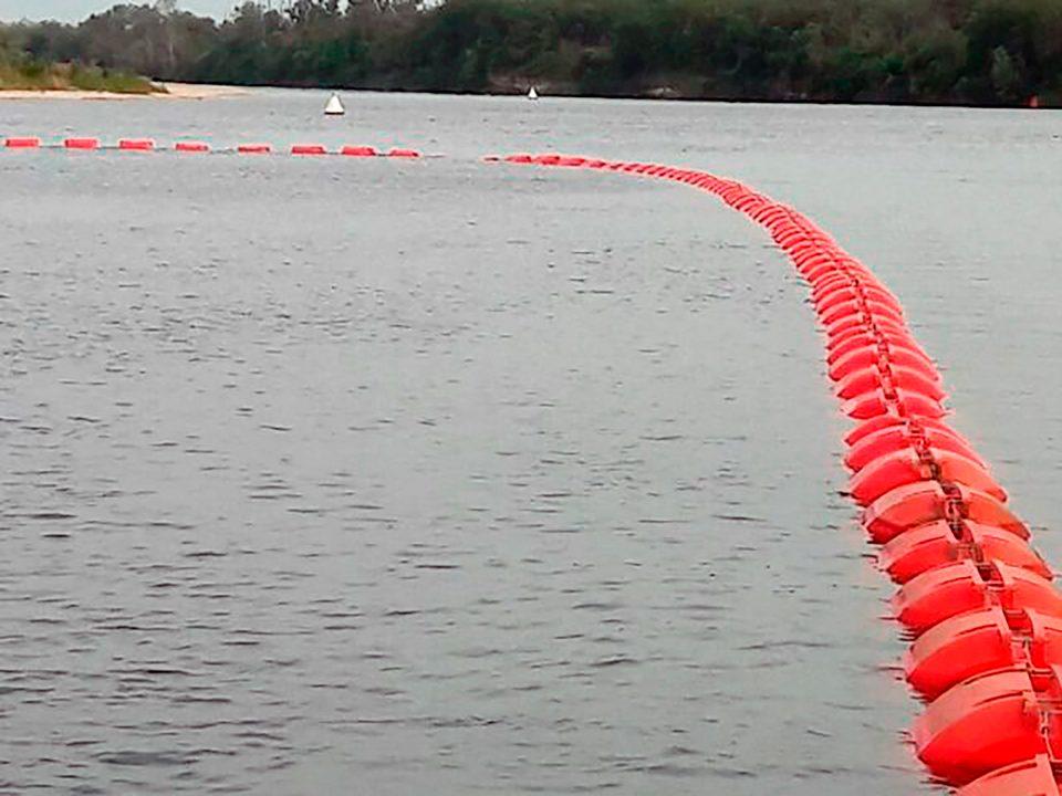 ПЛАВУЧИЙ ТРУБОПРОВОД с универсальным пластиковым поплавком